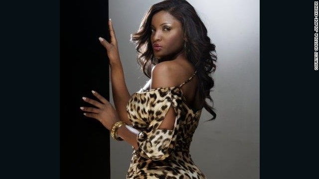 Actress, singer, and humanitarian Omotola Jolade-Ekeinde is nicknamed 'Omosexy' by her fans