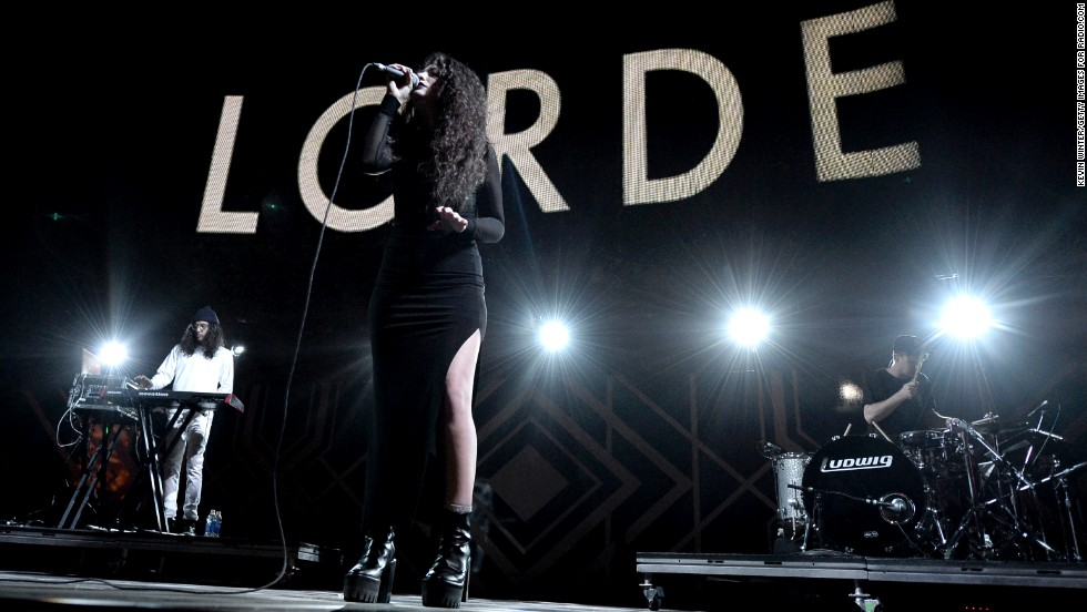 <strong>Lorde: Performing April 12 and <strong></strong>19</strong>