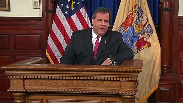What did Christie's press conf. accomplish?