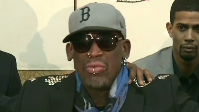 Fmr. Gov. Richardson on Rodman