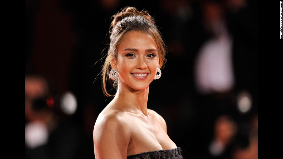 Actress Jessica Alba's father is Mexican-American, and she says she takes pride in being Latina, despite rumors to the contrary.