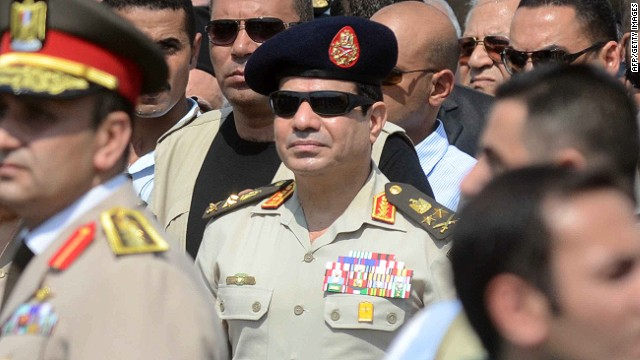 "Abdel Fattah el-Sisi: ""Egypt has room for everybody, and we are keen to save every drop of Egyptian blood."""