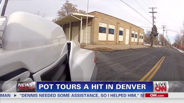 Pot tours a hit in Denver