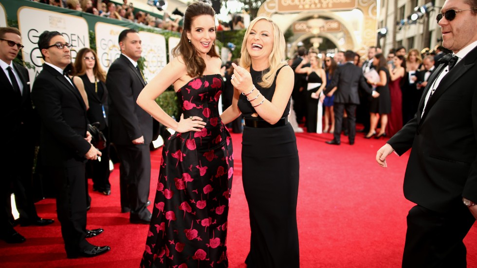 Tina Fey, left, and Amy Poehler