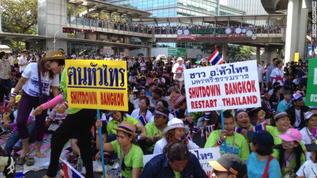 Protesters increase pressure on Thai PM