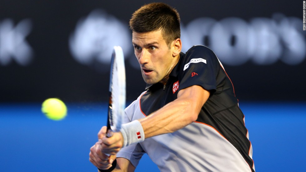 Prior to his defeat by Wawrinka, Djokovic has had won 25 straight matches at the Australian Open.