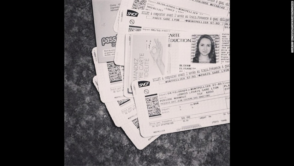 "<strong>#GuiltyPleasure winner —</strong> <a href=""http://instagram.com/p/e0a6ccui_k/"" target=""_blank"">@elisabethsuzanne</a> sent a photo of her stack of train tickets. ""I definitely share your love of travel,"" Bolduan said, ""and I love your take on it all: 'You can't buy happiness, but you can buy train tickets and that's pretty close. #travel.' """