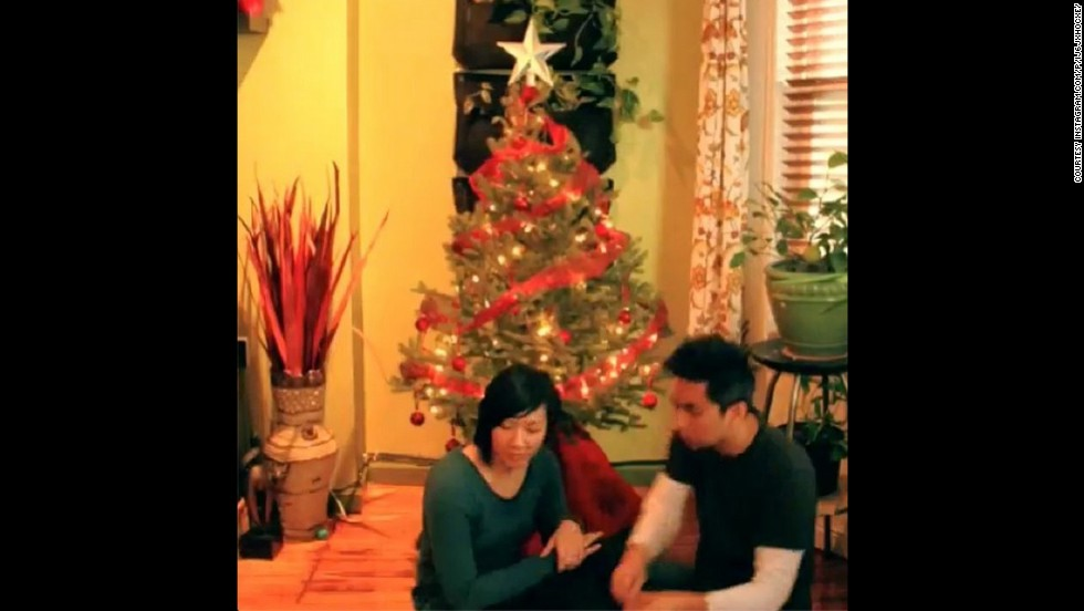 "<strong>#HolidayTradition winner —</strong> <a href=""http://instagram.com/rickhodesigns"" target=""_blank"">@rickhodesigns</a> sent a time-lapse video of him and his wife decorating their tree in Brooklyn, New York. You can watch the video <a href=""http://instagram.com/p/iJ6Jxhocxe/"" target=""_blank"">here</a>."