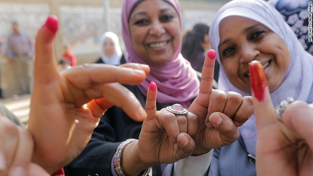 Egyptians head to polls for key vote