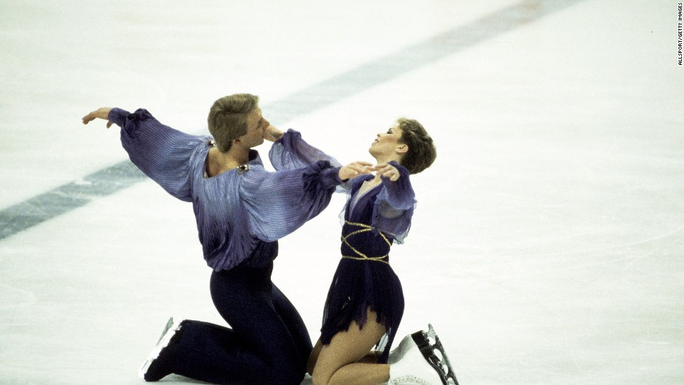 Jayne Torvill and Christopher Dean became the highest-scoring figure skaters of all time after receiving 12 perfect 6.0 scores following their Bolero routine at the 1984 Sarajevo Games. The pair went on to win bronze at Lillehammer 10 years later.