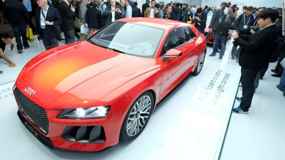 "The Audi <a href=""http://edition.cnn.com/2014/01/09/tech/innovation/self-driving-cars-ces/""><strong>Sport Quattro Laserlight</a></strong> concept car also packs a lot of automation hardware into a good-looking package (none of Google's goofy roof-mounted scanners here). The car features powerful Tegra K1 processors from chipmaker Nvidia, which fits powerful ""supercomputer"" technology inside the glovebox. But CNN's Samuel Burke warns that <a href=""http://www.cnn.com/video/data/2.0/video/tech/2014/01/07/ns-burke-ces-driverless-car.cnn.html"">it's not smooth sailing (or driving) yet...</a>"