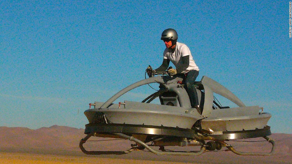 "The company is now working towards creating a model reminiscent of the speeder bike from ""Return of the Jedi,"" which can rise to a maximum of 15 feet (4.6 meters)."