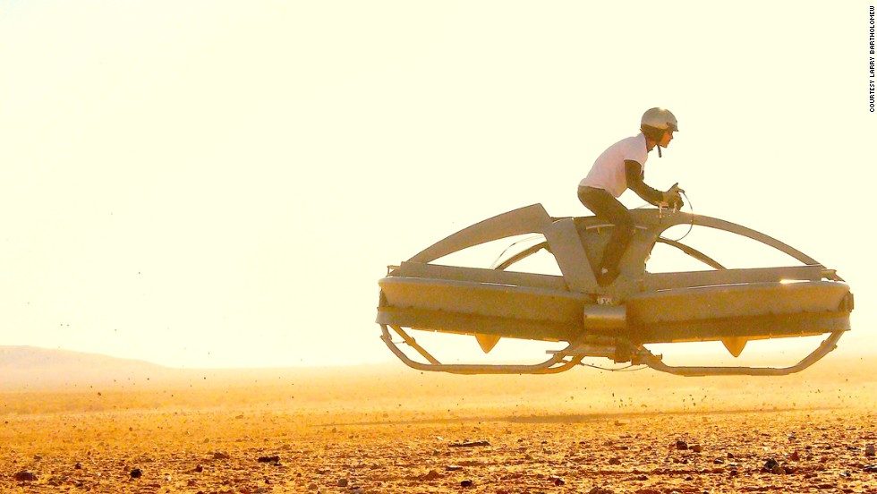 "California's <a href=""http://www.aerofex.com/"" target=""_blank"">Aerofex</a> has built a proof-of-concept hover bike, which flies using two ducted fans."