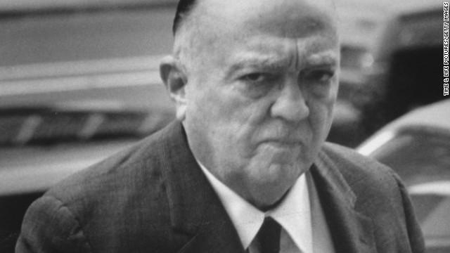 J. Edgar Hoover.
