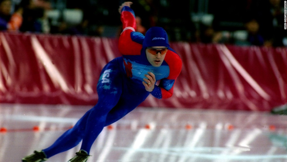 Dan Jansen's story is one of the most emotional in the history of the Winter Olympics. The favorite for gold in both the 500 and 1,000m events at the 1988 Games, Jansen received word that his sister had passed away after battling leukemia. The news came through on the day of his opening race and although he took to the ice, he crashed out and blew his chances. Four years later he missed out again and after he failed in the 500m at the 1994 Games, everyone thought his opportunity had gone -- until he won gold in the 1,000m and realized his dream.