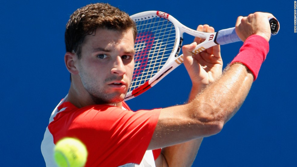 Grigor Dimitrov won his first ATP Tour title in October 2013, and is seeking to make his own name in the game after being compared to a young Roger Federer during his early years on the scene.