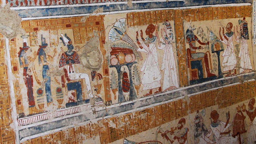 A Japanese team from Waseda University stumbled on the tomb of an ancient beer-maker while cleaning the courtyard of another tomb at the Thebes necropolis in the Egyptian city of Luxor.