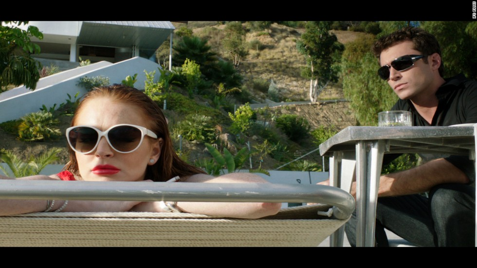 "Lindsay Lohan's performance in ""The Canyons"" earned her a worst actress nomination."