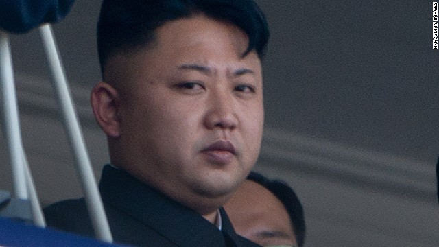 North Korean leader Kim Jong-Un in Pyongyang on July 27, 2013.