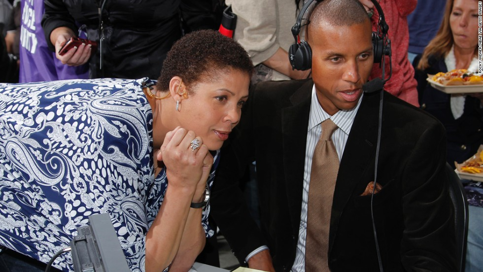 Basketball hall-of-famer Cheryl Miller is a 6-foot-3 former forward who garnered NCAA scoring records at the University of Southern California. Miller led the U.S. women's team to a gold medal at the 1984 Olympics and went on to coach at her alma mater. She offers commentary and sideline reporting for the NBA. Miller was born on January 3, 1964, and her brothers are former NBA star Reggie Miller (pictured) and former major league catcher Darrell Miller.<br />