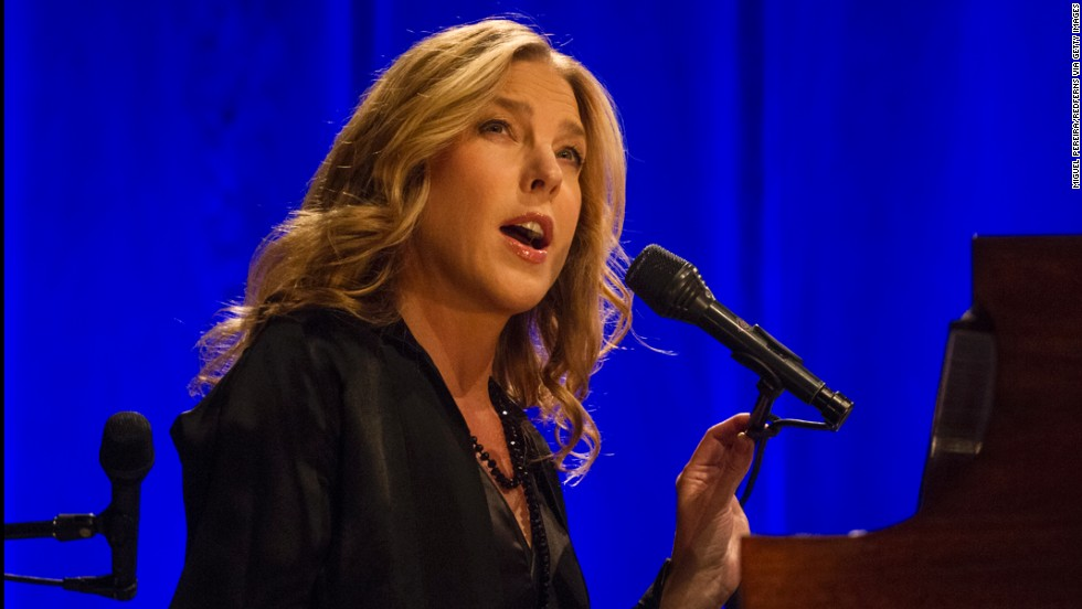 "Grammy-winning pianist and vocalist Diana Krall will be singing ""happy birthday"" to herself on November 16, 2014. Krall, known for her contralto voice, is married to another legendary musician, Elvis Costello."