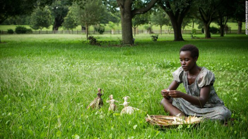 "<strong>Best supporting actress nominees:</strong> Lupita Nyong'o in ""12 Years a Slave"" (pictured), Sally Hawkins in ""Blue Jasmine,"" Jennifer Lawrence in ""American Hustle,"" Julia Roberts in ""August: Osage County"" and June Squibb in ""Nebraska"""