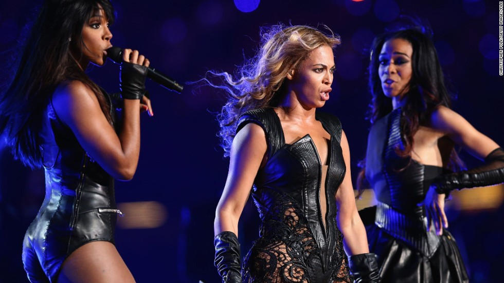 (From left) Kelly Rowland, Beyonce Knowles and Michelle Williams reunited as Destiny's Child to perform at the 2013 Super Bowl halftime show in New Orleans.