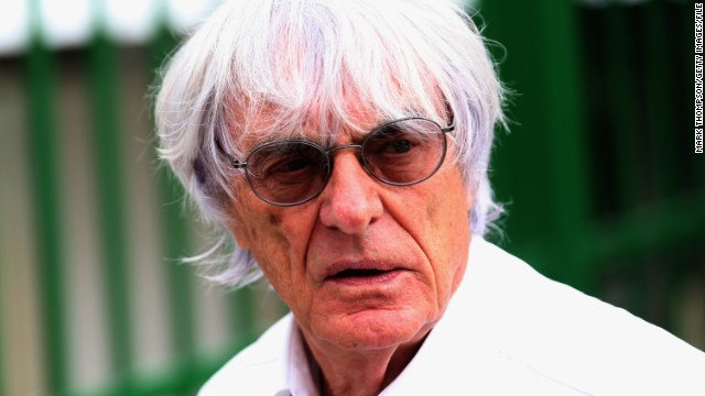 Bernie Ecclestone has been involved in motorsport since the 1950s.