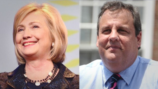 A poll shows a virtual tie for Hillary Clinton and Chris Christie in a hypothetical 2016 presidential race in New Jersey.