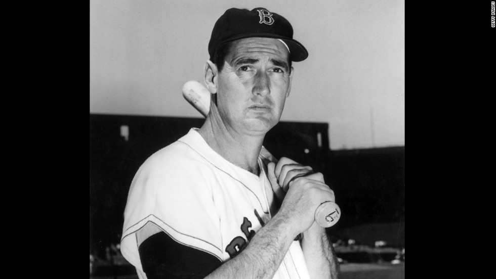 Baseball legend Ted Williams didn't talk much about his upbringing, so not many people knew his mother was from Mexico.