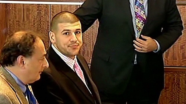 Aaron Hernandez eyed as gunman