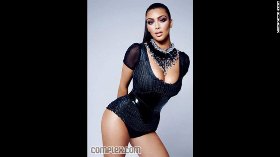 "In March 2009, Complex magazine accidentally featured a non-retouched image of Kim Kardashian for several hours before replacing with the retouched image. ""So what: I have a little cellulite,"" Kardashian wrote in a blog entry entitled ""Yes, I am complex!"" ""What curvy girl doesn't?!"""