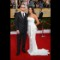 28 sag red carpet - Matt Damon and wife
