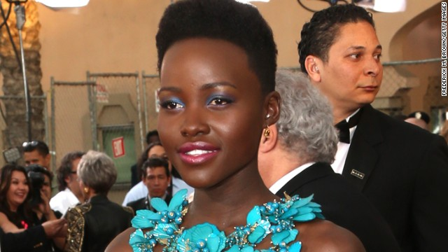 LOS ANGELES, CA - JANUARY 18: Actress Lupita Nyongo attends the 20th Annual Screen Actors Guild Awards at The Shrine Auditorium on January 18, 2014 in Los Angeles, California. (Photo by Frederick M. Brown/Getty Images)