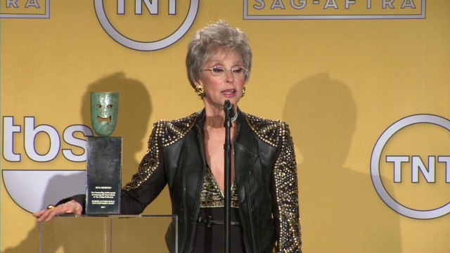 Rita Moreno says SAG award 'an honor'