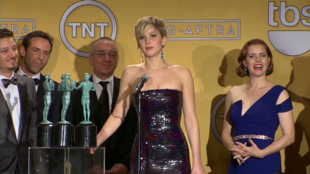 'American Hustle' cast wins at SAG