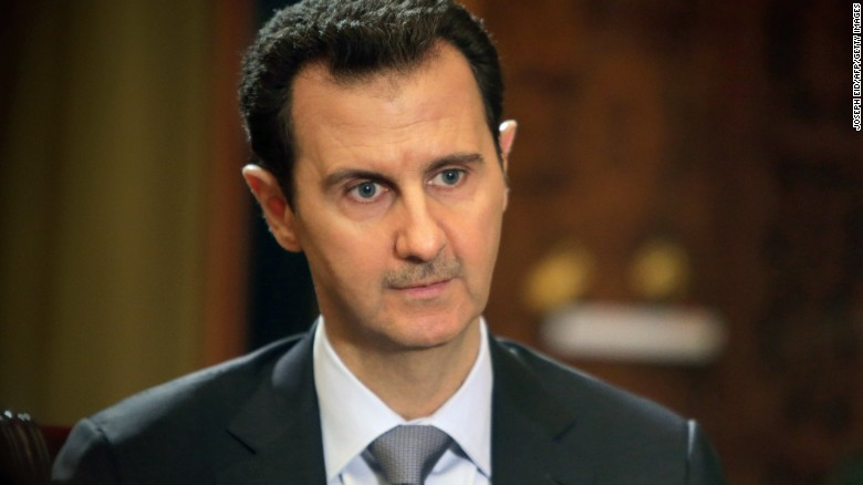 Assad's first interview after chemical attack
