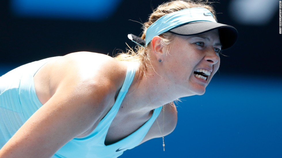 Russian third seed Maria Sharapova was a champion at Melbourne Park in 2008, but shes urrendered a one-set lead against Slovakia's Dominika Cibulkova to lose 3-6 6-4 6-1