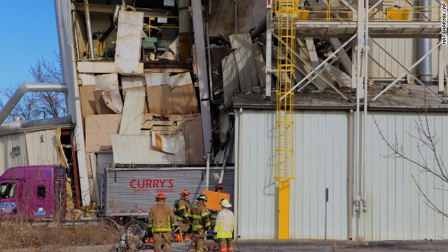 At least 2 dead in Omaha plant explosion