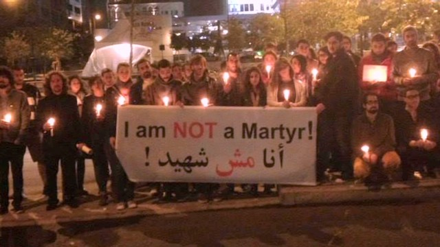 'Not a martyr' campaign gains traction