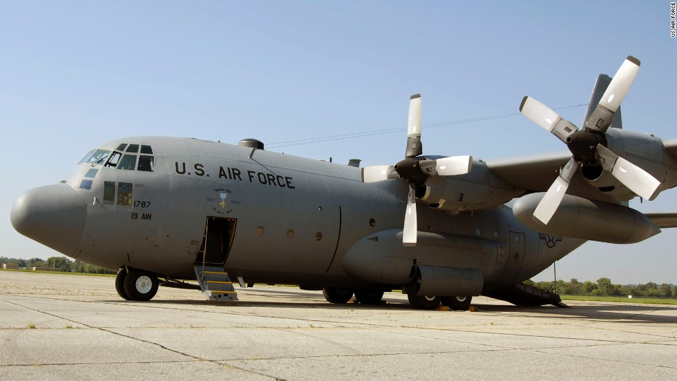Body of 'apparent stowaway' found in U.S. Air Force plane that traversed Africa