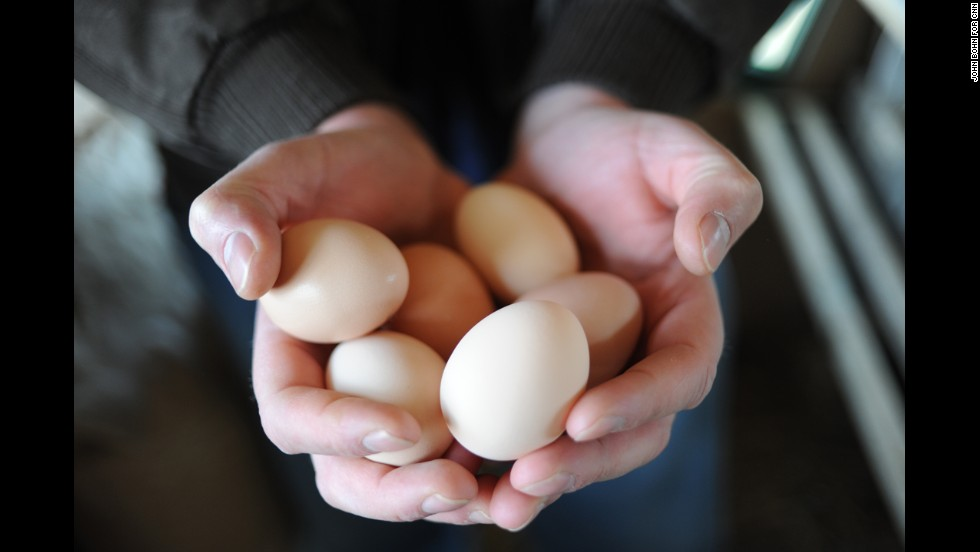 Maloof says you can taste the difference in the eggs compared with their factory-farmed counterparts. Still, Manuel's Tavern sells both because its chickens only produce enough eggs each week for Sunday brunch. Each weekend, the tavern sells out, Maloof says, despite the $4 upcharge.