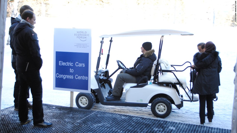 Davos electric car