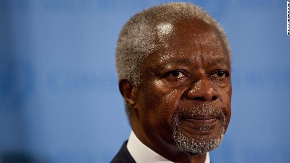 Former U.N. Secretary General Kofi Annan discusses migration and its benefits.
