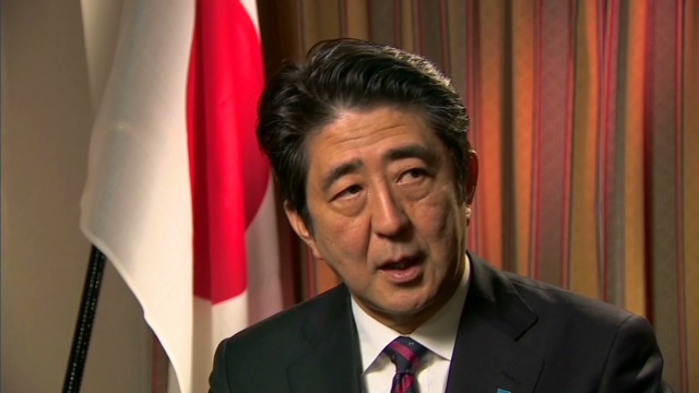 "Shinzo Abe on dolphin ""fishing"""