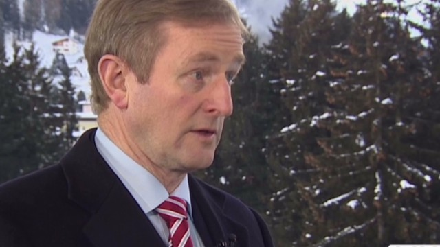 Davos: Ireland's economy back on track