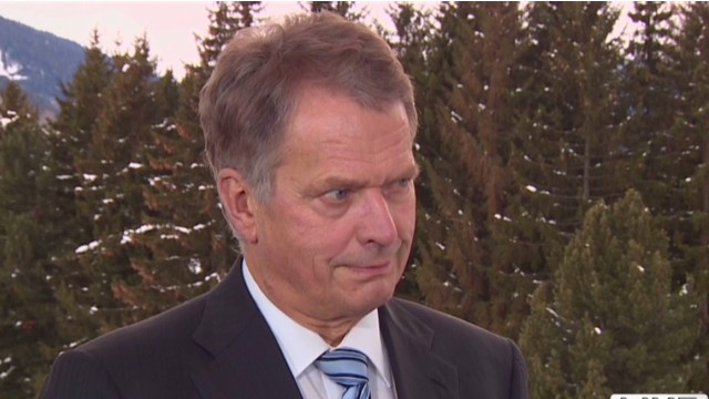 Finnish president on Europe's turnaround