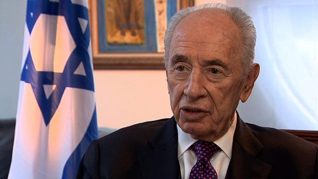 Peres: Main killer in Syria is Hezbollah