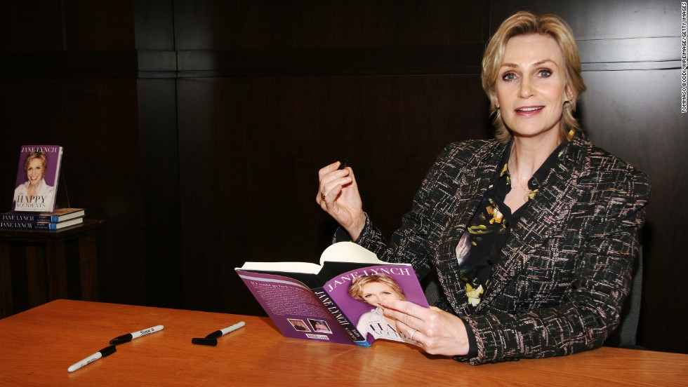 "Jane Lynch wrote about her addictions to alcohol and cough syrup in her memoir ""Happy Accidents."" She<a href=""http://www.accesshollywood.com/jane-lynch-talks-sues-glee-future-and-cory-monteiths-rehab-move-hes-renewing-his-vows-to-sobriety_article_78523"" target=""_blank""> told Access Hollywood in 2013</a> that she has been sober for 21 years."