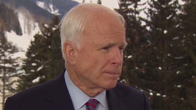 McCain: Keep economic sanctions on Iran
